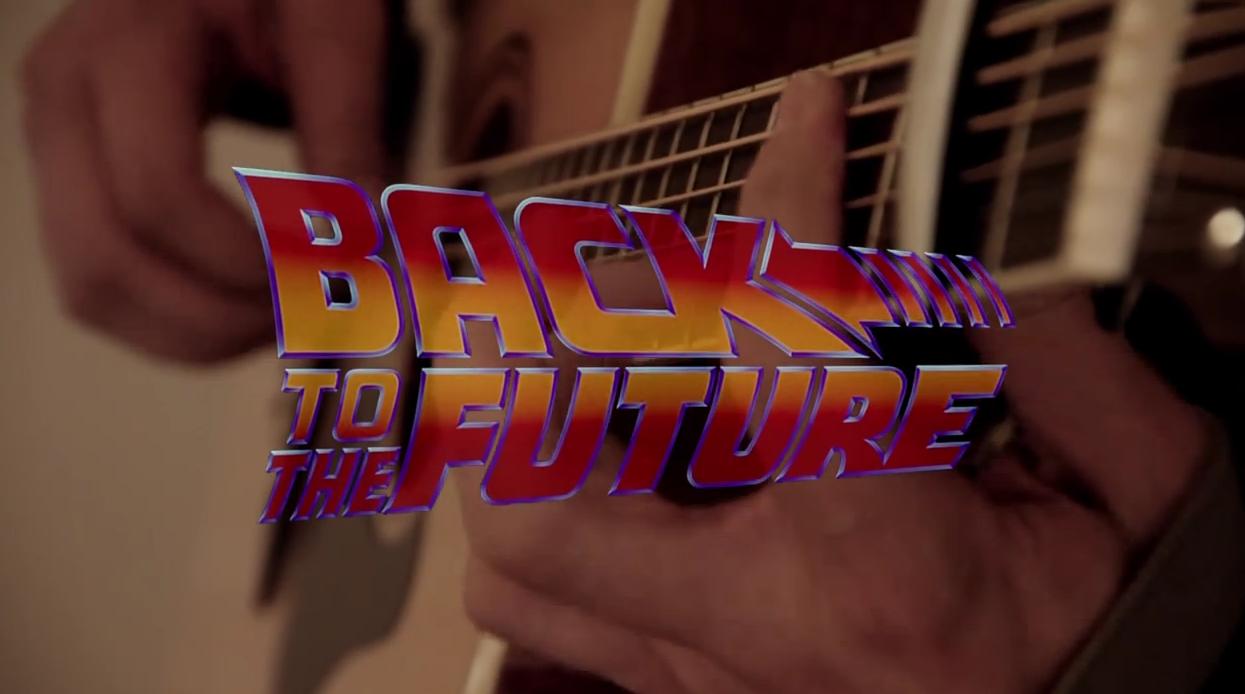 Adaptan canción de 'Volver al futuro' en increíble versión acústica