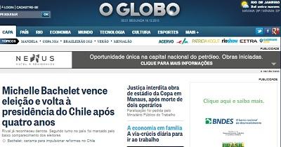Portada O' Globo