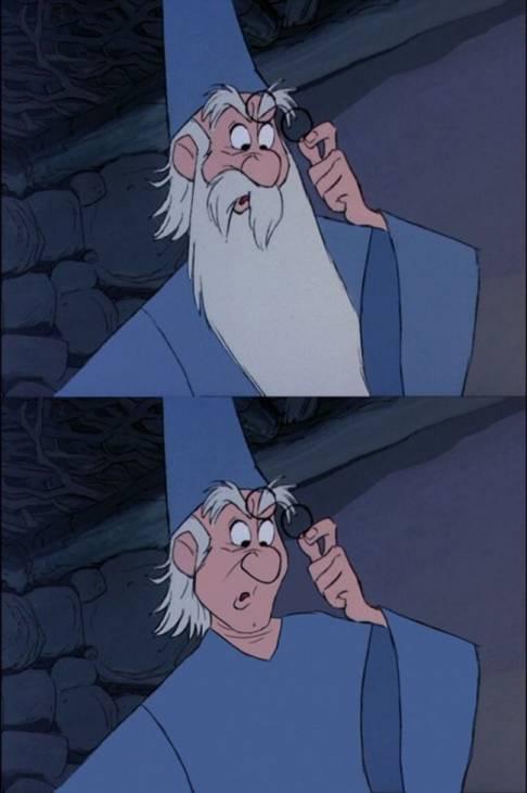Merlin (La espada en la piedra) Annie Erskine