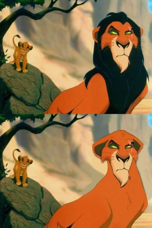 Scar (El rey León) | Annie Erskine