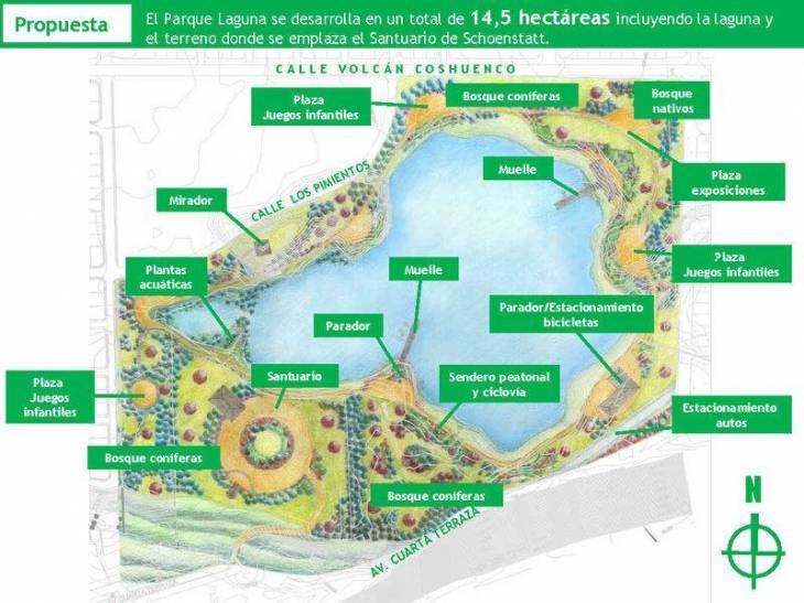 Proyecto presentado por movimiento Rescatemos Parque La Laguna | Facebook
