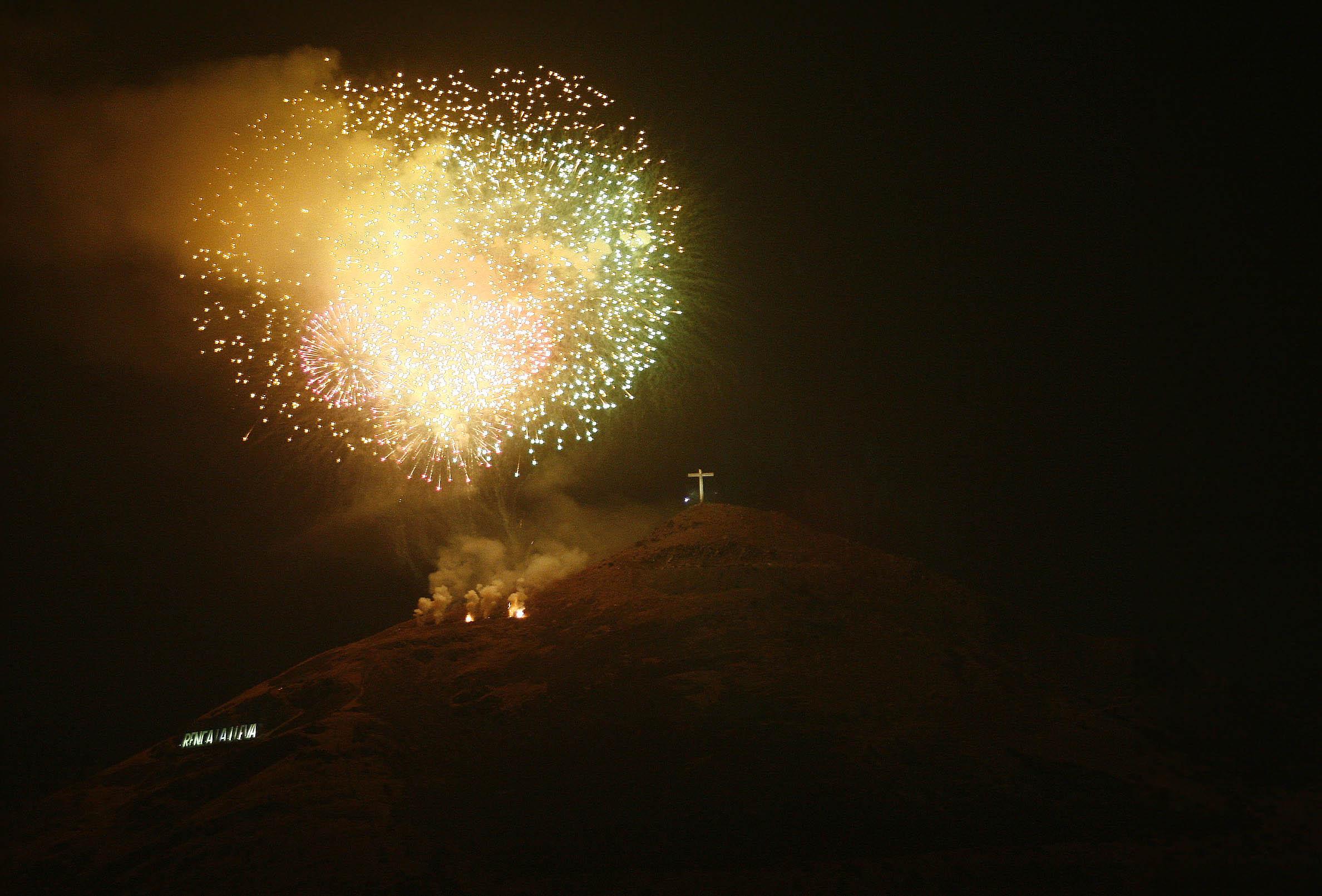 Amago De Incendio Se Registro En Cerro Renca Tras Lanzamiento De