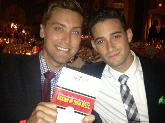 Lance y su marido | Lance Bass en Twitter