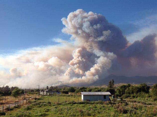 Incendio | Felipe Allende