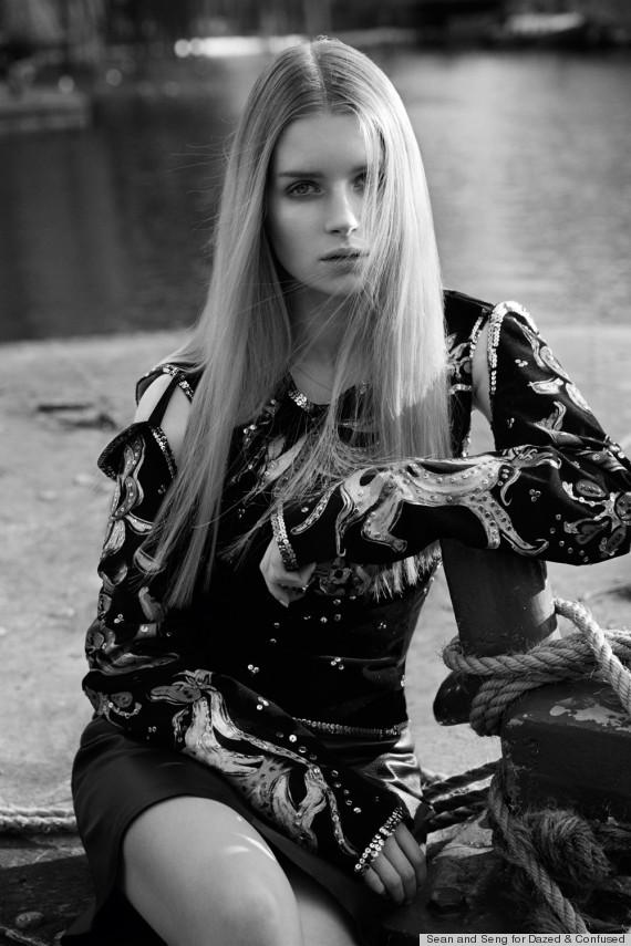 Lottie Moss | Dazer