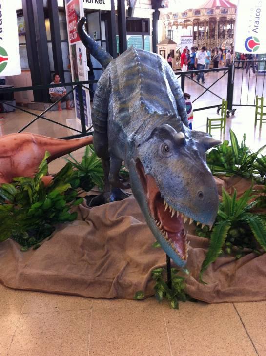 Exhibición Dinosaurios
