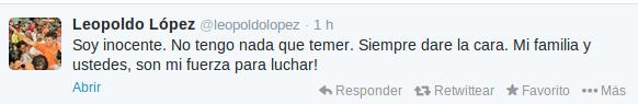 Twitter | @leopoldolopez