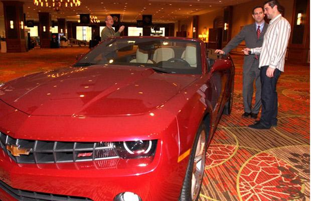 Chevrolet Camaro - Aaron Rodgers