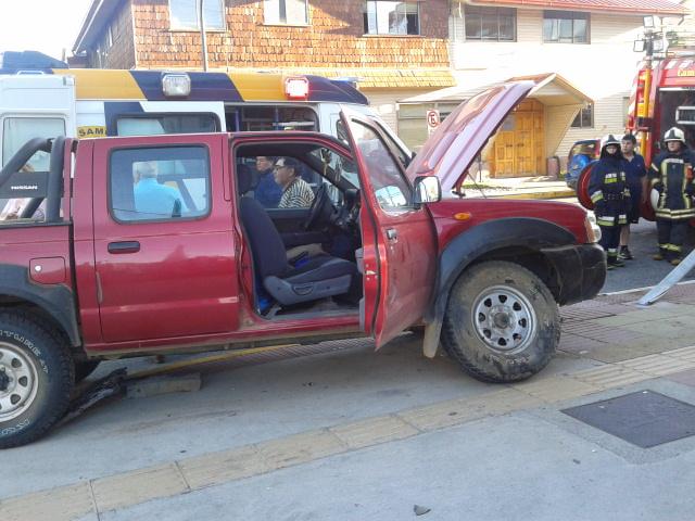 Accidente de tránsito en Puerto Montt | Andrés Quinchamán (RBB)