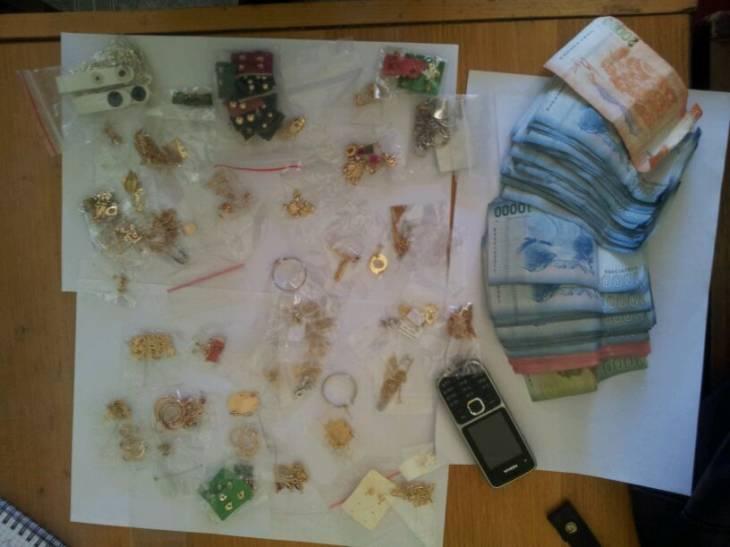 Artículos que contenía la cartera robada | Bárbara Cox (RBB)