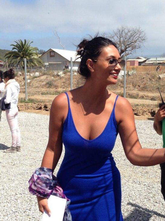 Pamela Díaz durante los ensayos | @VivaDichato