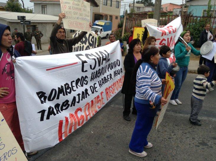 Protesta de vecinos | Víctor Lillo (RBB)
