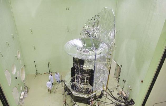 Una nave espacial durante pruebas en el LEAF   ESA