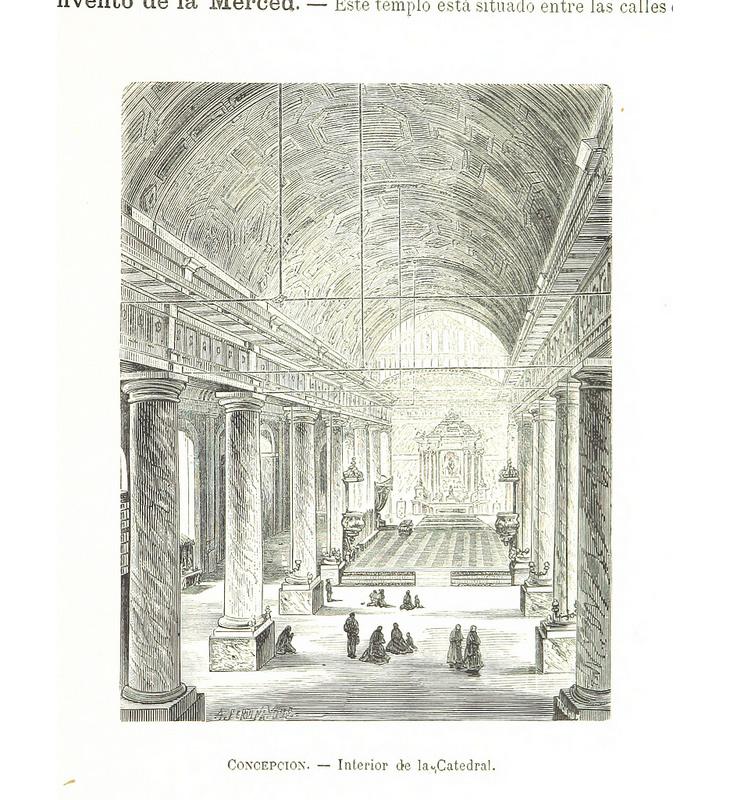 Concepción - Interior de la Catedral