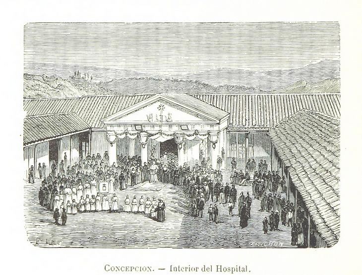 Concepcion - Interior del Hospital