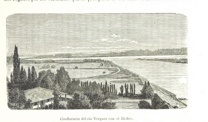Confluencia del Río Vergara con el Bío Bío