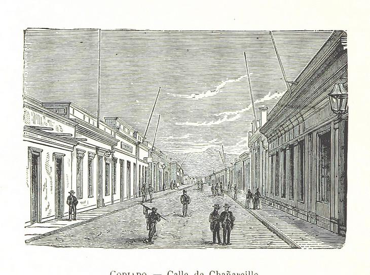 Copiapó - Calle de Chañarcillo