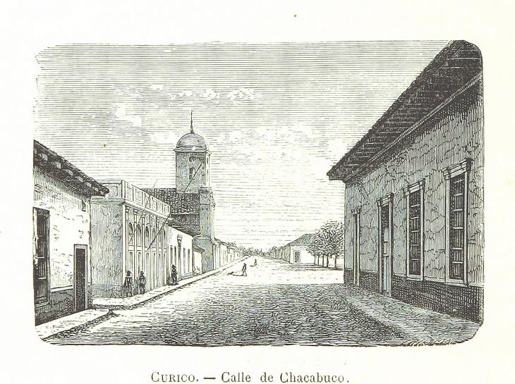 Curicó - Calle de Chacabuco