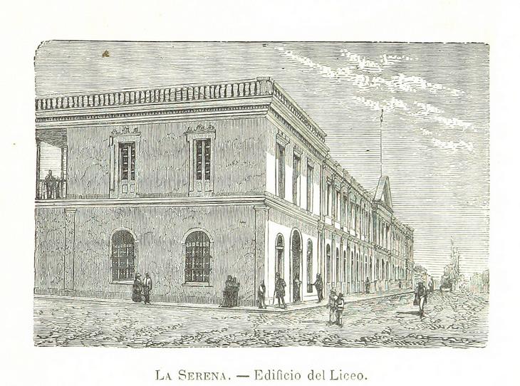 La Serena - Edificio del Liceo