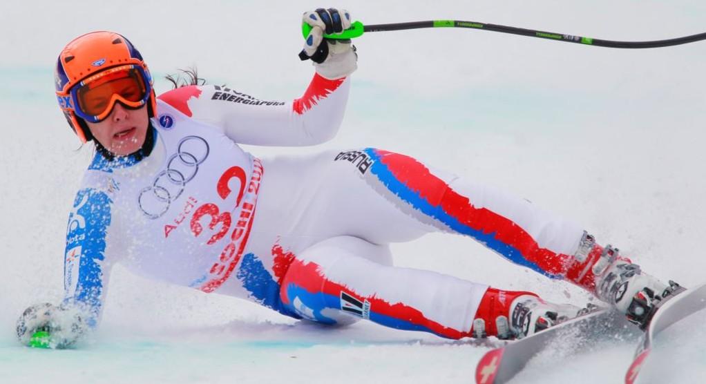 Esquiadora rusa accidentada en Sochi no tiene movilidad de cintura para abajo