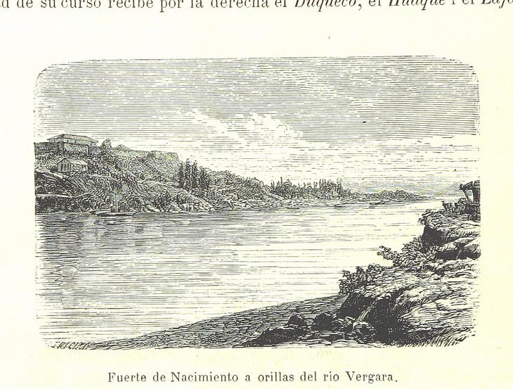 Nacimiento - Fuerte del mismo nombre a orillas del río Vergara