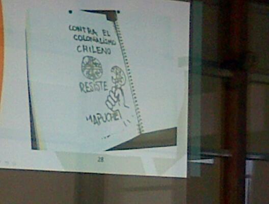 Panfleto presentado por fiscalía | Fiscalía de La Araucanía