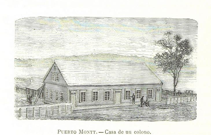 Puerto Montt - Casa de un colono