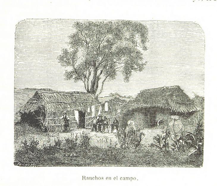 Ranchos en el campo