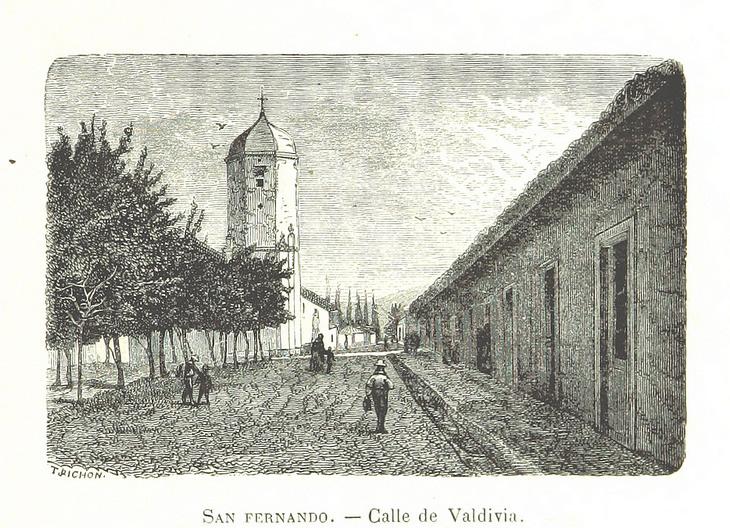 San Fernando - Calle de Valdivia