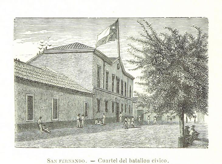 San Fernando - Cuartel del Batallón