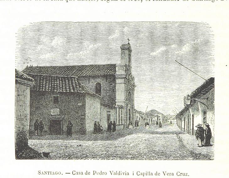 Santiago - Casa de Pedro de Valdivia