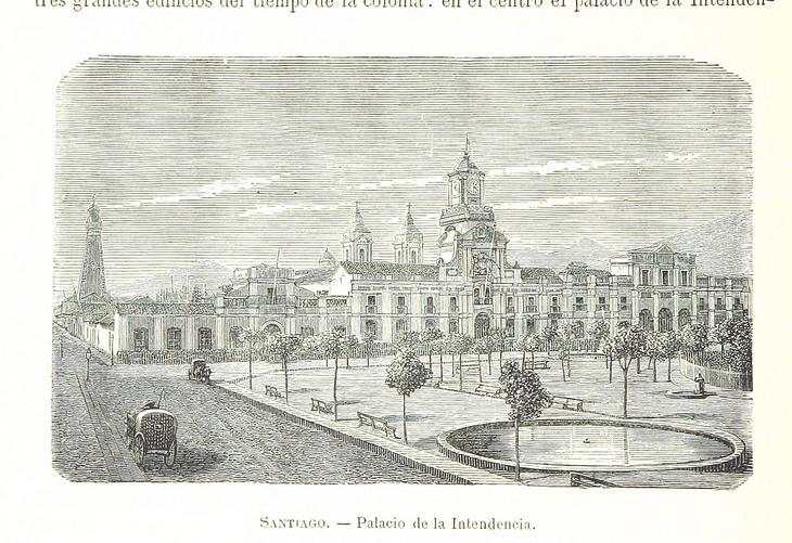 Santiago - Palacio de la Intendencia