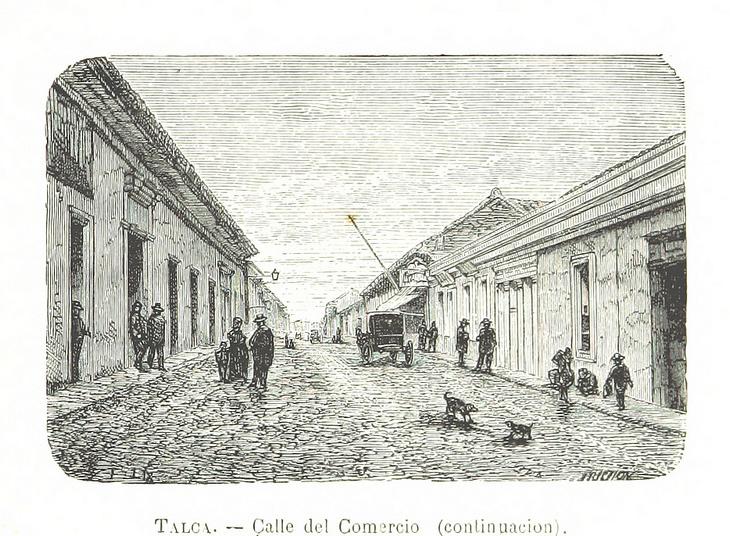 Talca- Calle Comercio