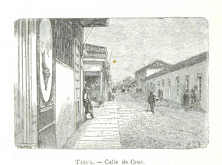 Talca - Calle de Cruz