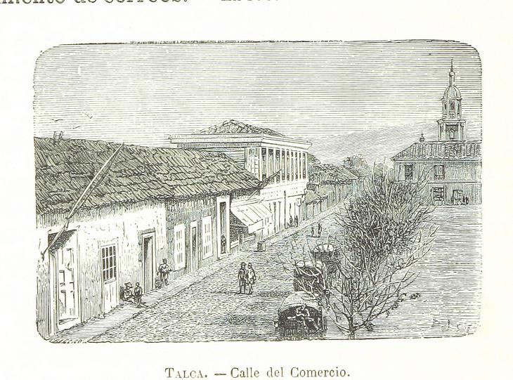 Talca - Calle del Comercio