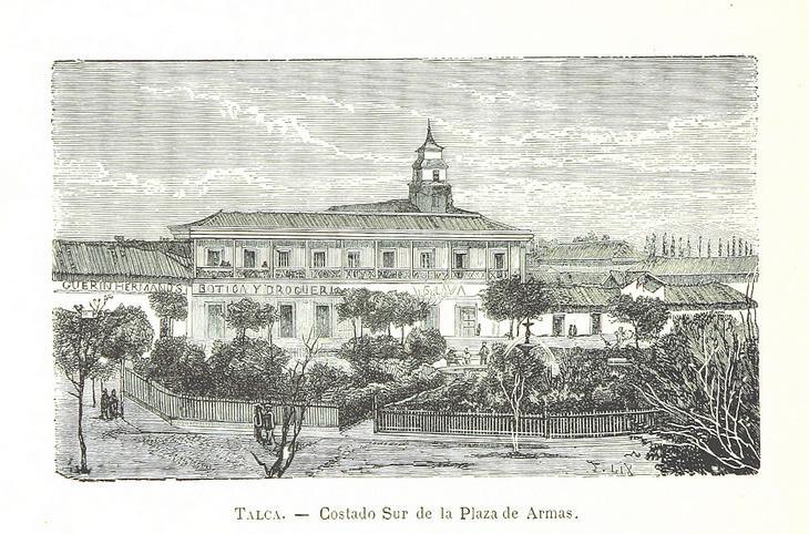 Talca - Costado Plaza de Armas