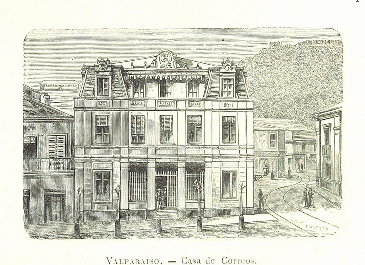 Valparaíso - Casa de correos