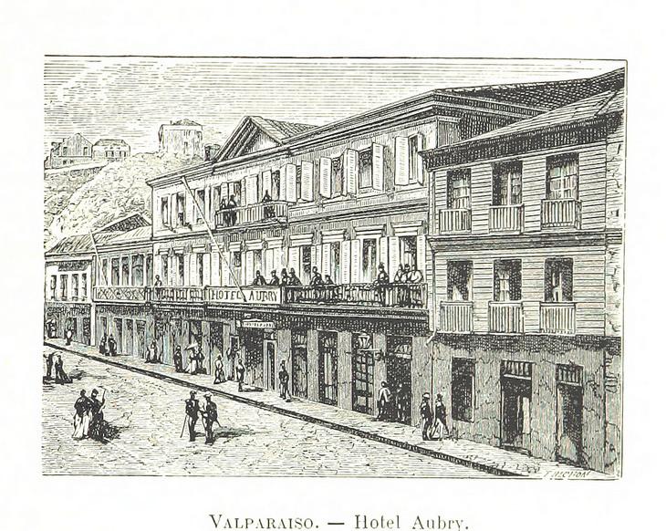 Valparaíso - Hotel Aubry
