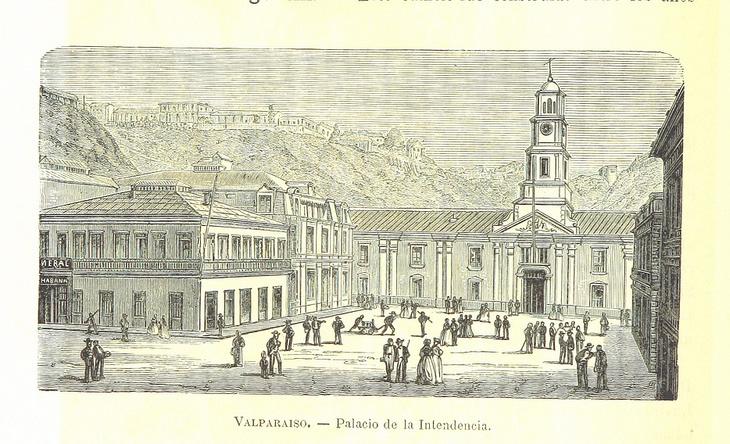 Valparaíso - Palacio de la Intendencia