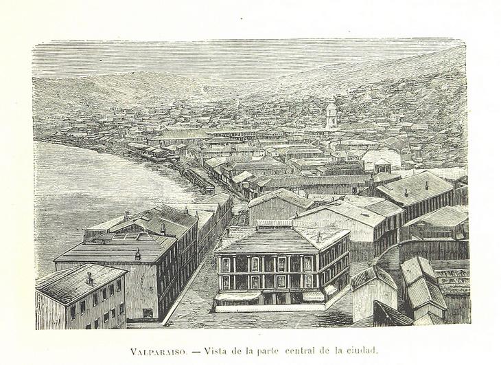 Valparaíso - Parte Central de la Ciudad