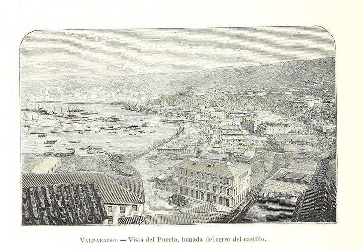 Valparaíso - Vista desde Cerro Castillo
