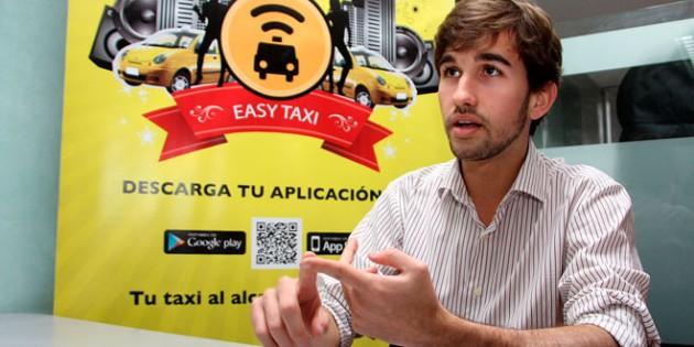Gustavo Vaz fundador de Easy Taxi