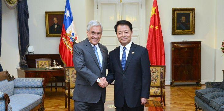 Ministro de Transporte de China | José Manuel de la Maza | Presidencia de la República