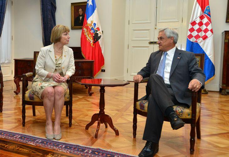Viceprimer Ministra de Croacia | José Manuel de la Maza | Presidencia de la República