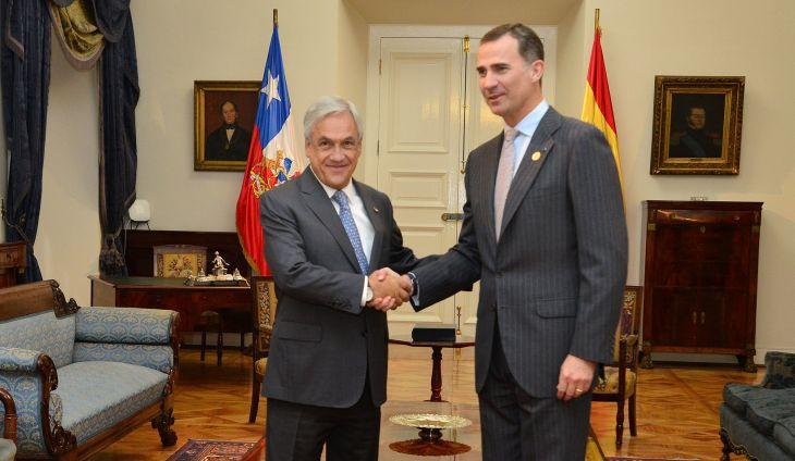 Príncipe Felipe | José Manuel de la Maza | Presidencia de la República