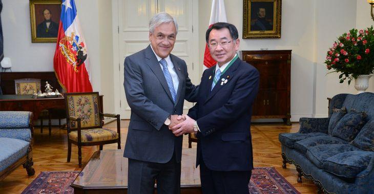 Ryu Shionoya (Japón) | José Manuel de la Maza | Presidencia de la República