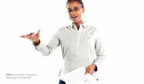 Asha | Doctora en Psicología Cognitiva en Stanford