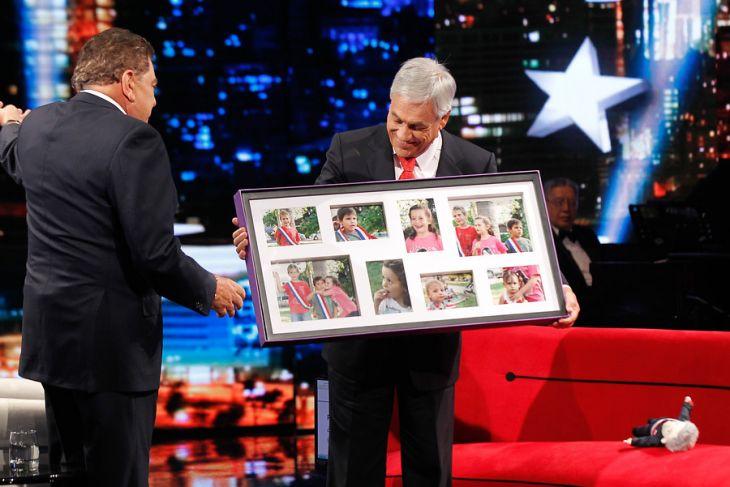 El regalo que recibió al final del programa | Francisco Longa | Agencia UNO