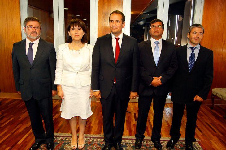 Intendente junto a gobernadores | Víctor Salazar | Agencia UNO