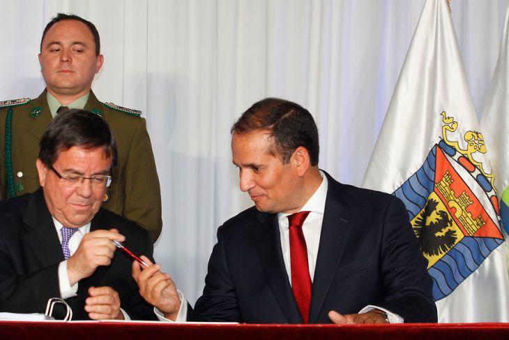 Traspaso de mando | Víctor Salazar | Agencia UNO